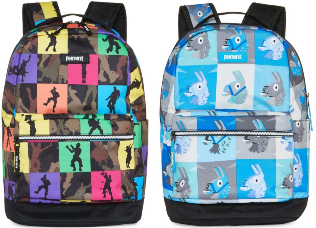 Two Fortnite Themed backpacks from JCPenney