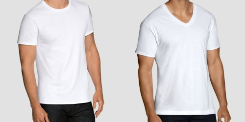 Fruit of the Loom Men's T-Shirt 12-Packs Only $14.99 at Target & More – Just $1.25 Per Shirt