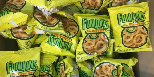 Amazon: Funyuns 40-Count Single Bags Just $9.66 Shipped | Only 24¢ Per Bag