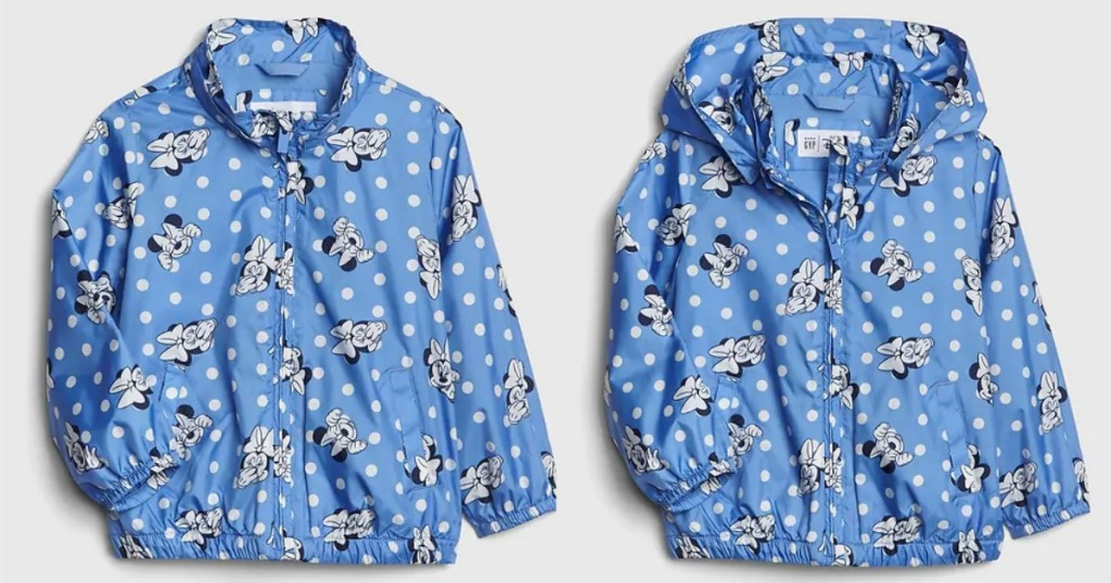 Gap Minnie Mouse Windbuster Jacket