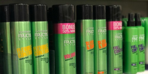 3 Garnier Fructis Hairsprays Just $6.98 Shipped on Amazon (Only $2.33 Each)