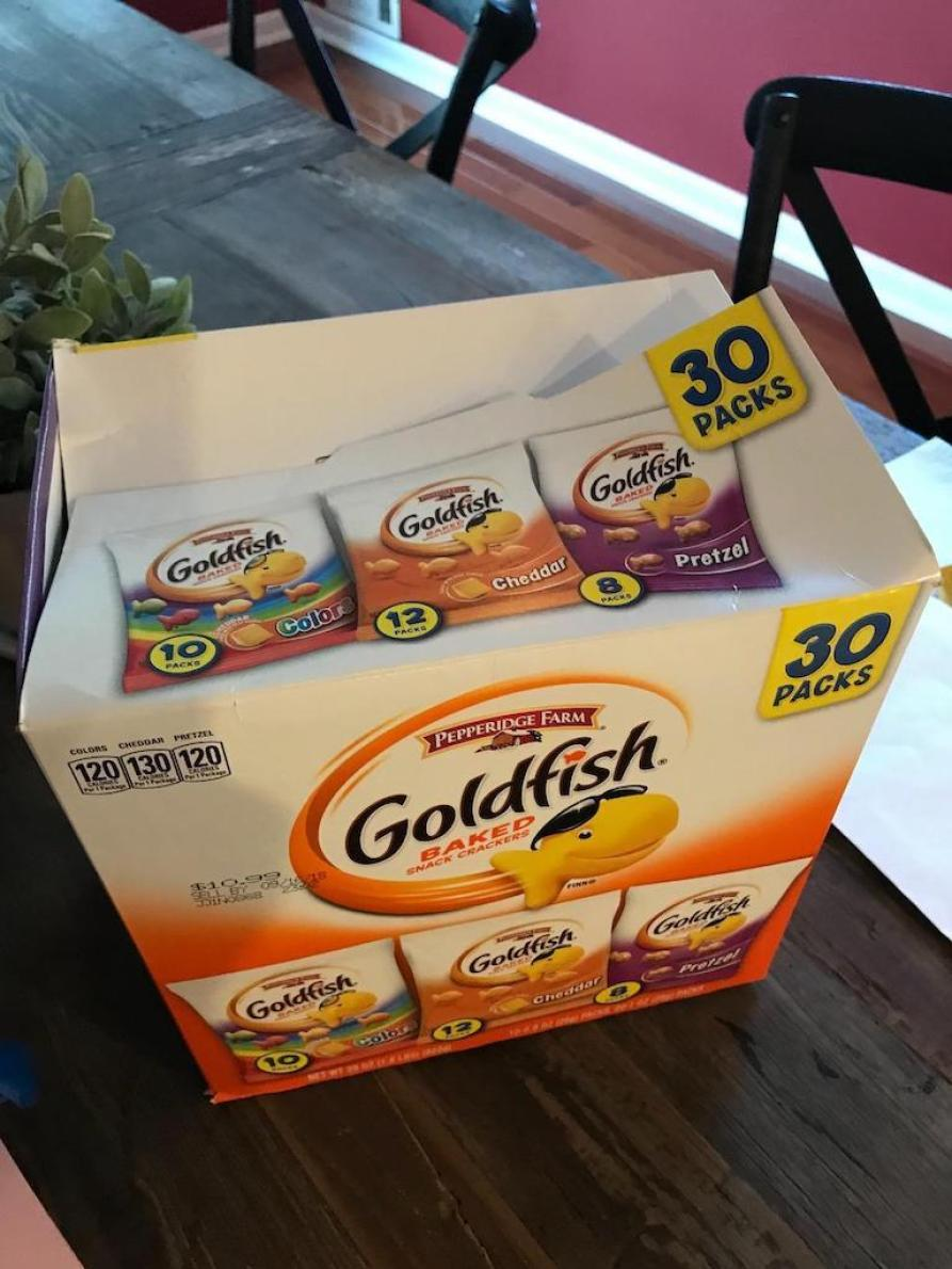 Goldfish box 30 packs