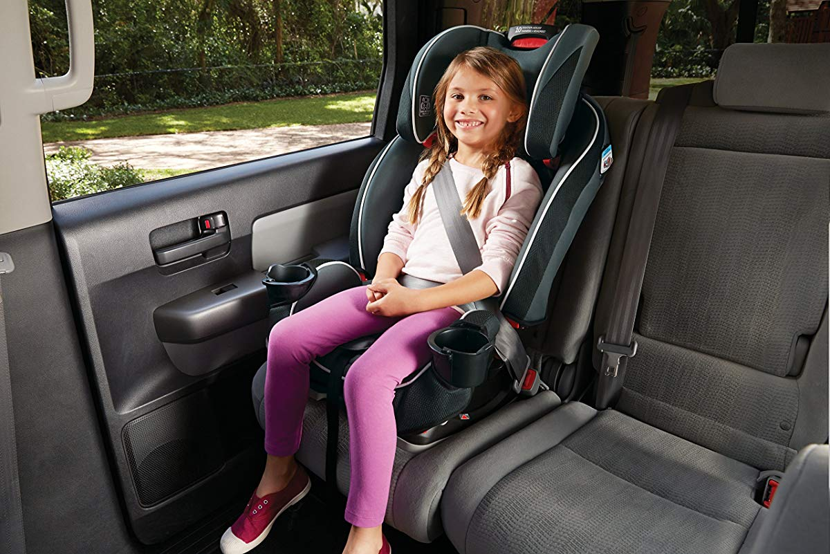 child in Graco car seat