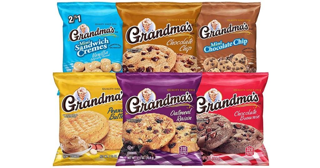 grandmas cookies variety pack