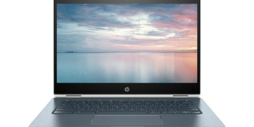 $200 Off Highly Rated HP Touch-Screen Chromebook + Free Shipping