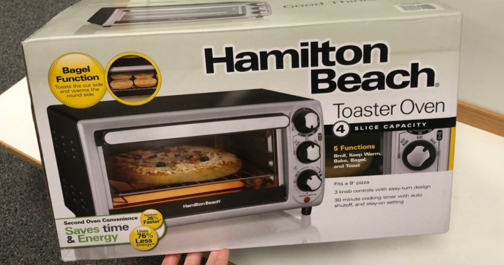 Hamilton Beach Toaster Oven on Kohl's Shelf