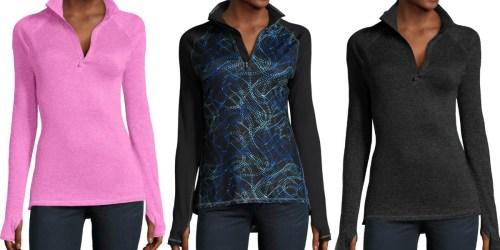 Hanes Women's Performance Quarter Zip Jackets Only $6 (Regularly $22)
