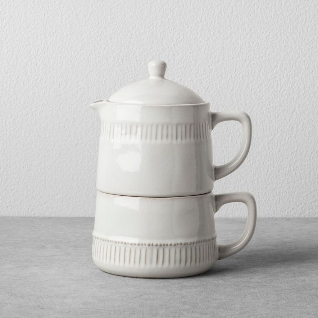Coffee Pot and Mug Set