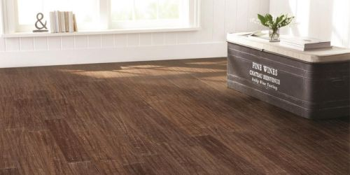 35% Off Hardwood and Bamboo Flooring at Home Depot