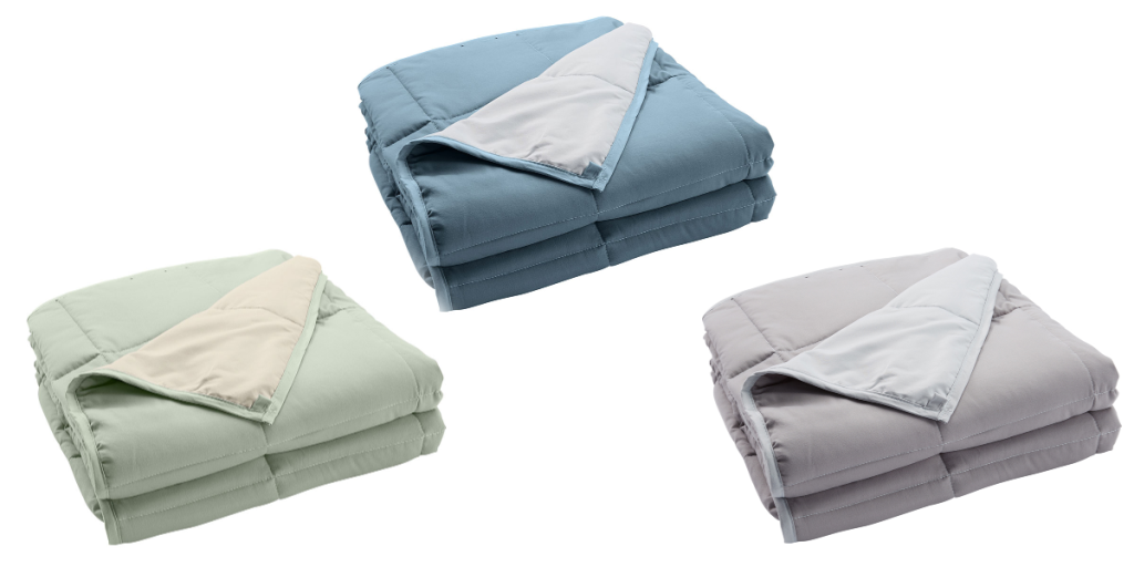 Home Fashion Designs Weighted Reversible Blankets