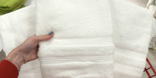 Home Expressions Bath Towels Only $3 on JCPenney.com + Up to 70% Off More Home Deals