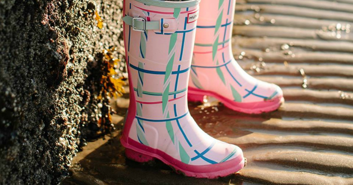 bbba6bd85 Up to 50% Off Women's & Kids Hunter Boots + FREE Shipping - Hip2Save
