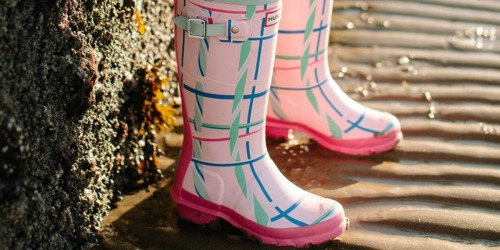 Up to 50% Off Women's & Kids Hunter Boots + FREE Shipping