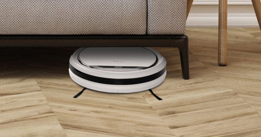 ILIFE Pro Robotic Vacuuming under the couch