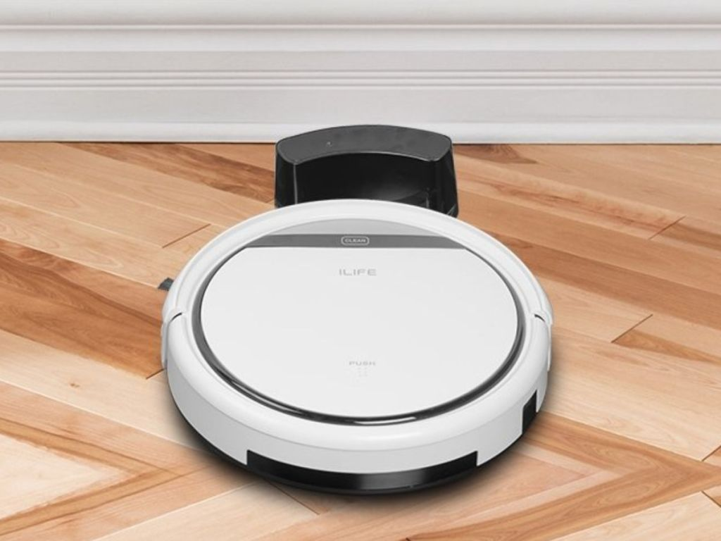 ILIFE Pro Robotic Vacuum charging