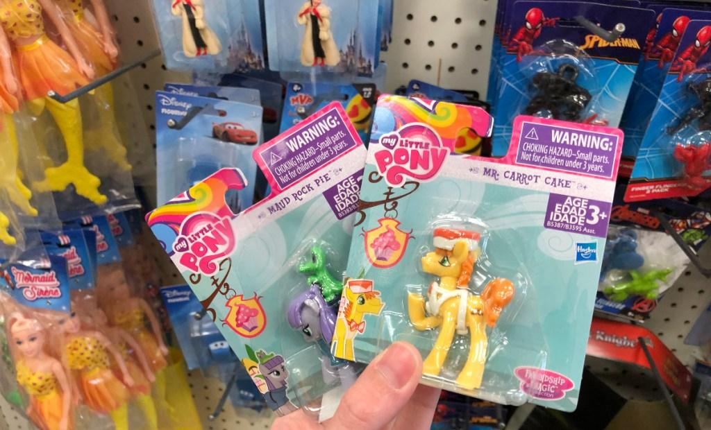 My Little Pony toys at Dollar Tree