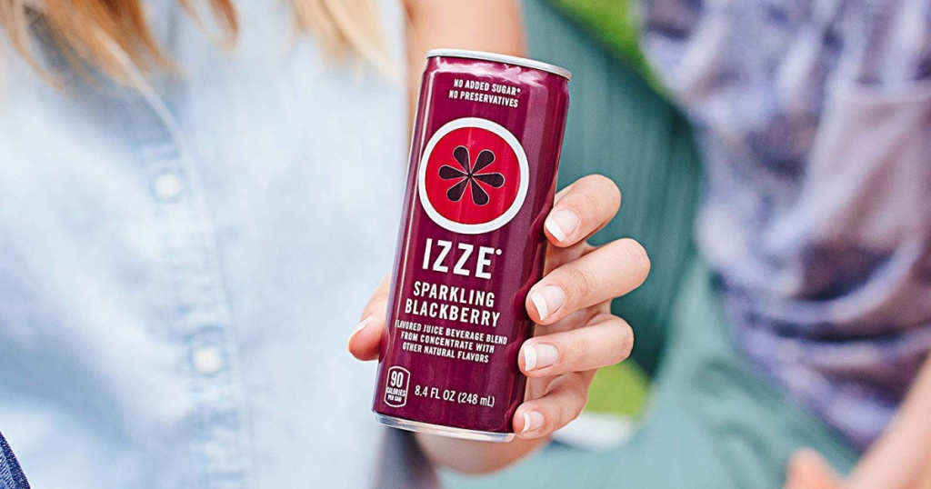izze sparkling blackberry juice