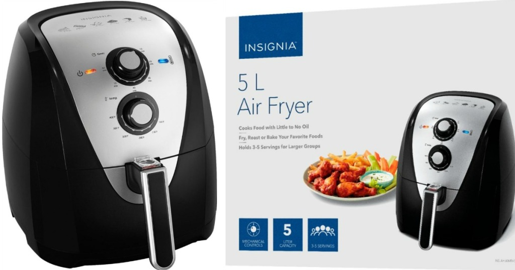 Insignia Air Fryer with Box