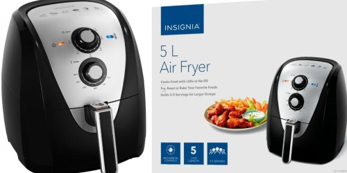 Insignia 5.3-Quart Air Fryer Only $39.99 Shipped (Regularly $100)