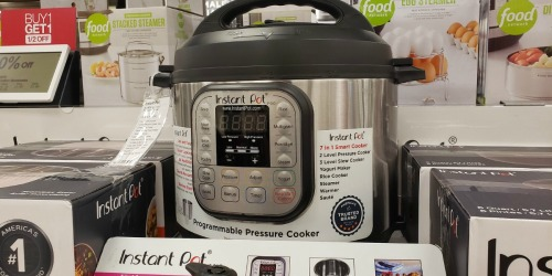 Instant Pot Duo Pressure Cooker as Low as $35.99 Shipped at Kohl's (Regularly $100)