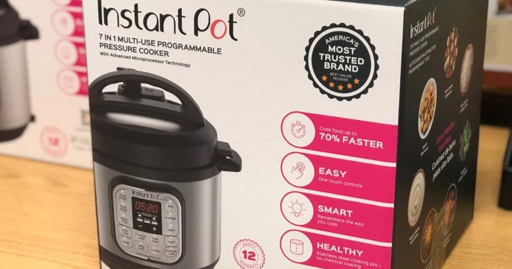 Instant Pot Pressure Cooker 3 Quart