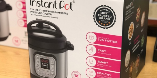 Instant Pot Duo 3-Quart Pressure Cooker Only $39.95 Shipped (Regularly $80)