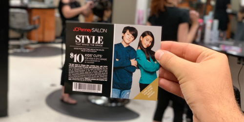 Kids Haircuts Only $10 at JCPenney Salons