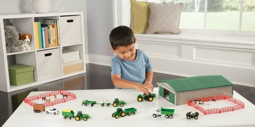 John Deere 70-Piece Farm Set Only $21 (Regularly $40)