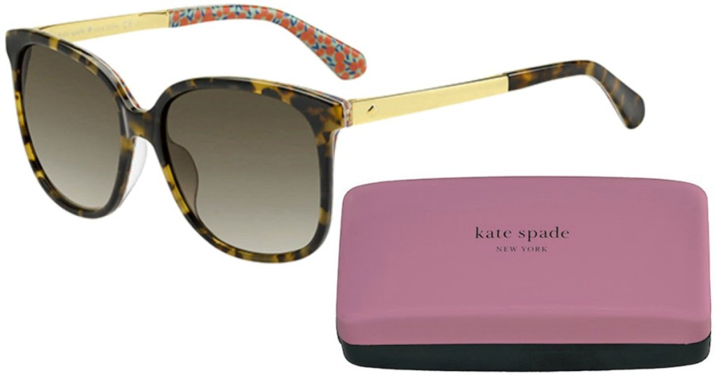 kate spade sunglasses and pink kate spade case