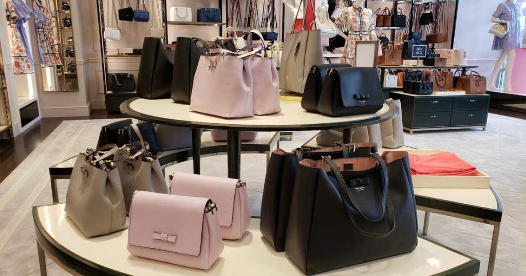 kate spade purses at the store