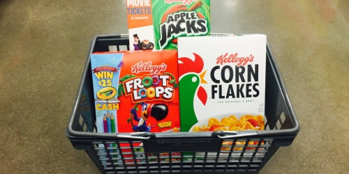 Kellogg's Cereals as Low as 73¢ Each After Cash Back at Walgreens (Starting July 21st)