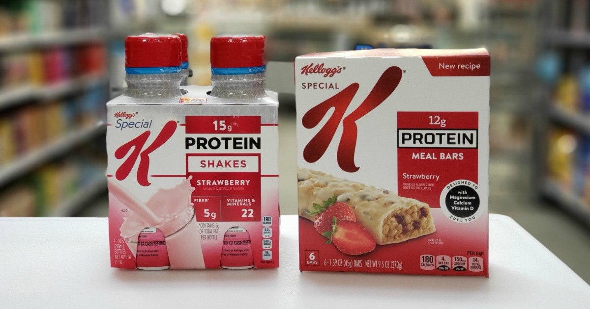 Kellogg's Protein Shakes and Meal Bars