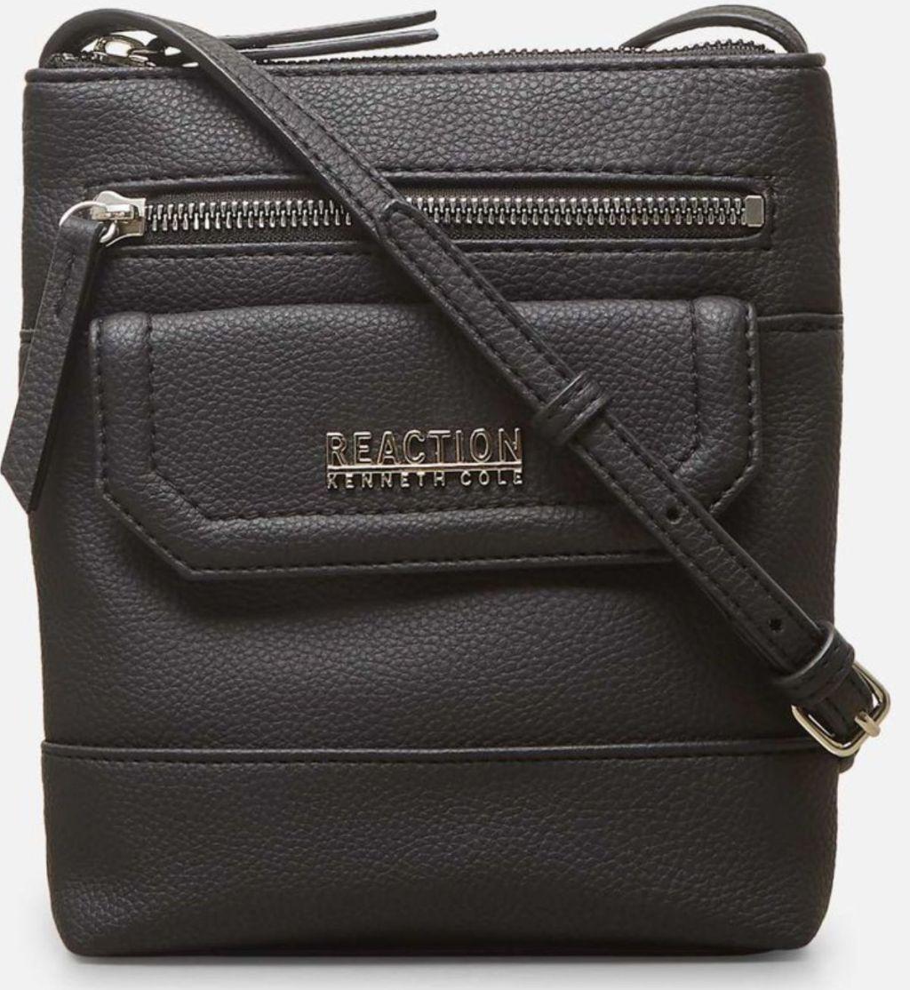 black Kenneth Cole Gabriella Mini Crossbody Bag