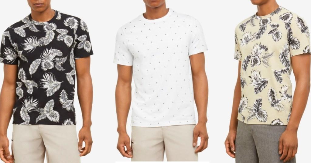 three guys wearing Men's Kennth Cole shirts