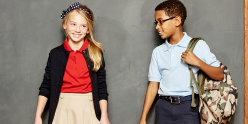 Izod Kids Polos Only $7.50 at JCPenney.com (Regularly $20) + More School Uniform Deals