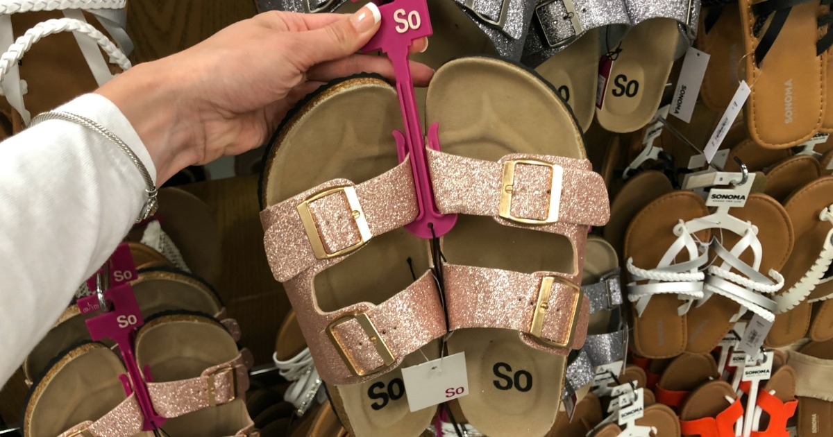 Women's Sandals Only $5.61