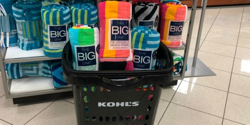 Beach Towels as Low as $3.23 Each Shipped at Kohl's (Disney, The Big One & More)