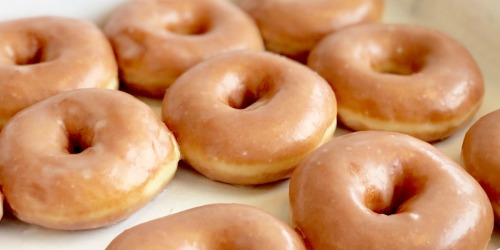 Krispy Kreme Double Dozen Doughnuts Only $13 | Today Only!