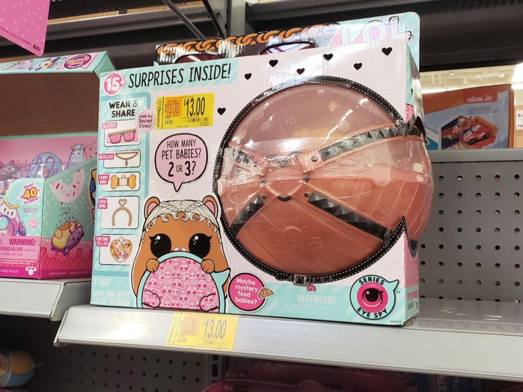 L.O.L. Surprise! Biggie Pets - M.C.Hammy on shelf in walmart