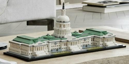 LEGO Architecture United States Capitol Set Just $69.99 Shipped (Regularly $100)