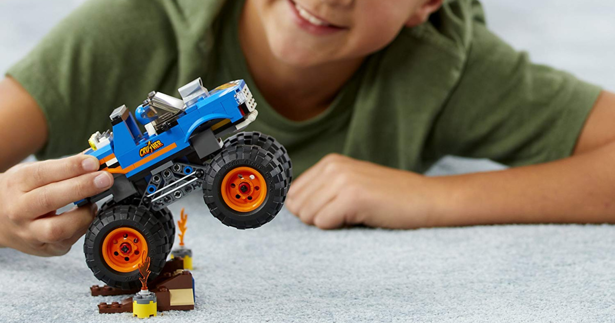 lego city monster truck set