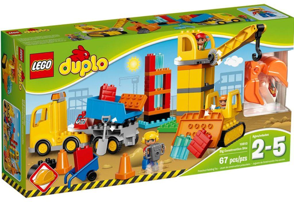 LEGO Duplo Big Construction Site box