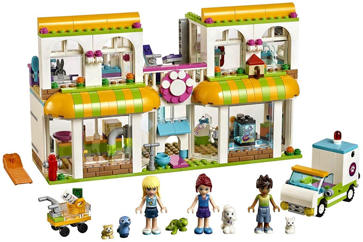 lego friends heartlake city pet center contents