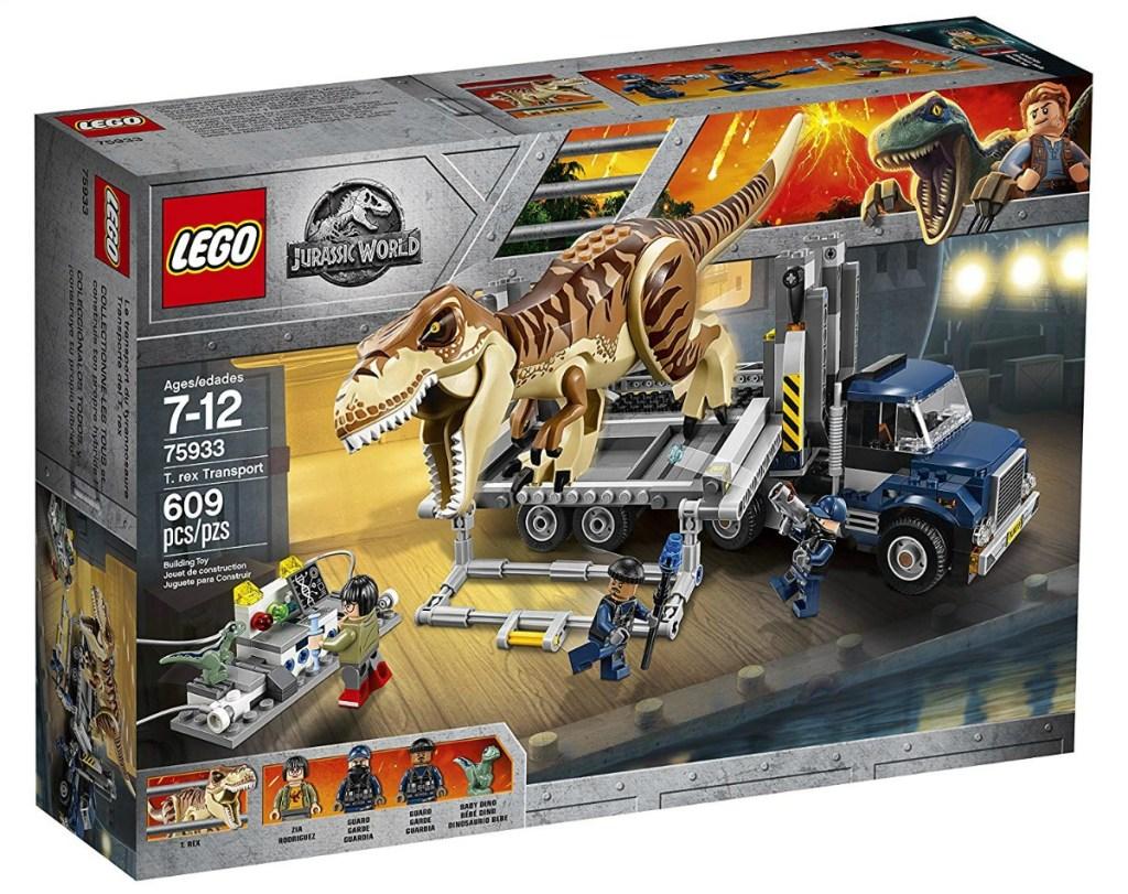 LEGO Jurassic World T-Rex Transport box