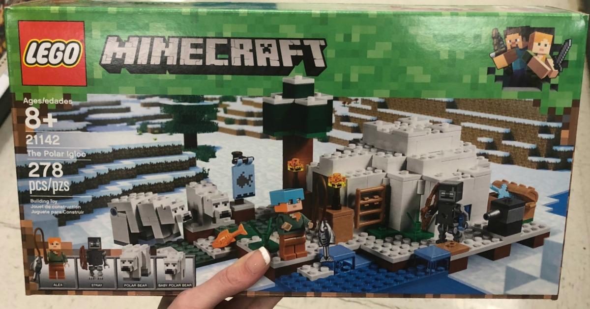 LEGO Minecraft The Polar Igloo set