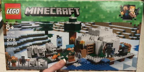 Up to 40% Off LEGO Sets at Amazon | LEGO Minecraft & More