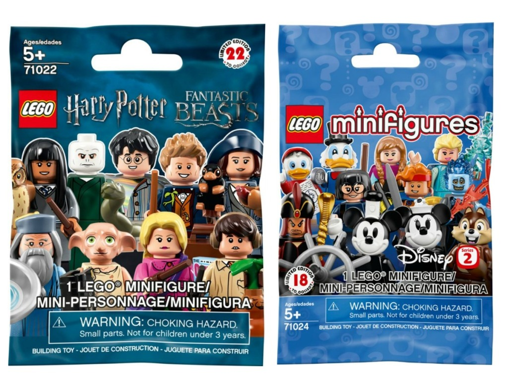 LEGO Minifigures Harry Potter and Fantastic Beasts and Toy Story Series 2