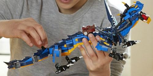 LEGO Ninjago Masters of Spinjitzu Stormbringer Dragon Set Only $24.99 (Regularly $40)