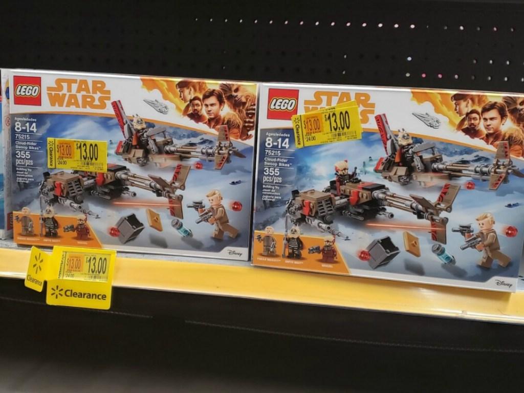 lego boxes on store shelf