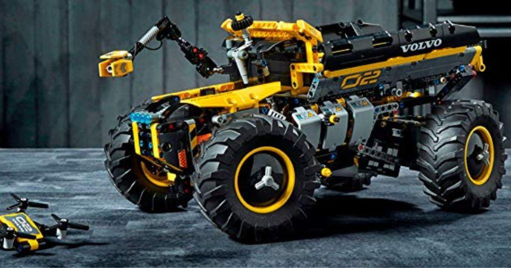 built LEGO Technic Volvo Concept Wheel Loader